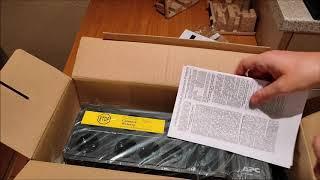 Test APC Back UPS BE850 USV Unterbrechnungsfreie Stromversorgung   Unboxing