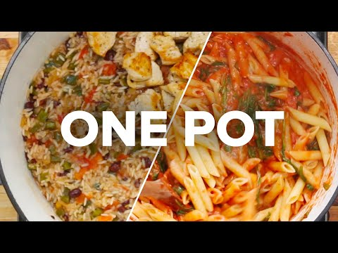 How to Make 31 Quick One Pot Meals