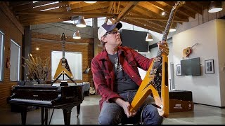 "The Story of The Epiphone Joe Bonamassa 1958 ""Amos"" Korina Flying-V"
