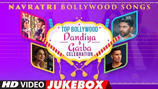 Top Bollywood Dandiya & Garba Celebration - Navratri Bollywood Songs   Video Jukebox   T-Series