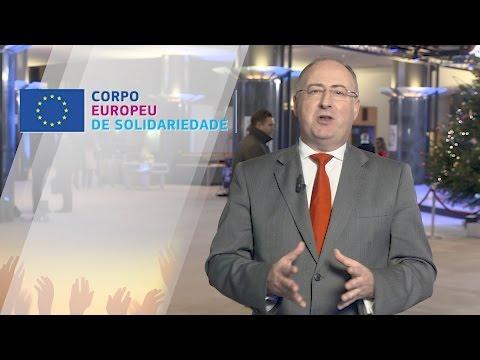 Minuto Europeu nº104 - Corpo de solidariedade