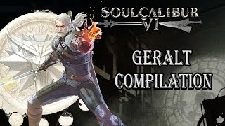 Soul Calibur 6 Geralt Compilation of Perfects, Comebacks and Clutches (Network Test)