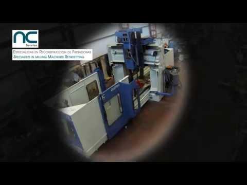 Retrofit der CORREA Brückenfräsmaschine durch NC Service