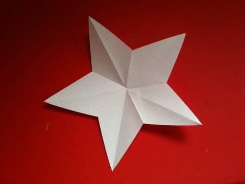 ハート 折り紙:折り紙で星の作り方-matome.naver.jp