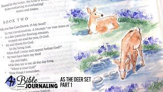 Ai Bible Journaling - As The Deer Part 1