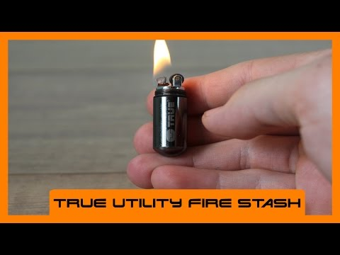 True Utility Fire Stash | Wasserdichtes Outdoor-Feuerzeug | Review Deutsch | HD+