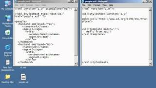XML Tutorial   57 XSL Templates Pt 1