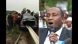 Dr. Wahome Gakuru dies after a grisly road accident at Kabati, Murang'a