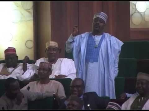 Hon Mohammed Gudaji Kazaure contributing on a point of order on personal explanation bordering on Di