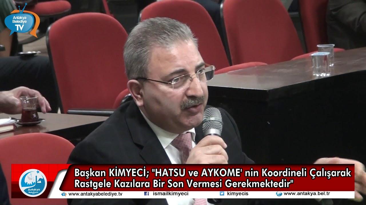 BAŞKAN KİMYECİ; HATSU VE AYKOME' NİN KOORDİNEL...