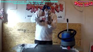 plasti dip bmw 530i using earlex hv3500 spray station - Most