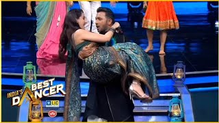 Nora Fatehi & Terence Lewis Romantic  Dance Performance  | India's Best Dancer