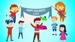 #ChildrensDay greetings 2019 | Happy childrens day WhatsApp status | Children's Day wishes Song