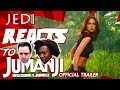 """JEDI REACTS!: """"Jumanji: Welcome to the Jungle"""" 🎮 🦏 Official Trailer"""
