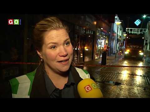 Zeer grote brand in de Langestraat Winschoten - RTV GO! Omroep Gemeente Oldambt