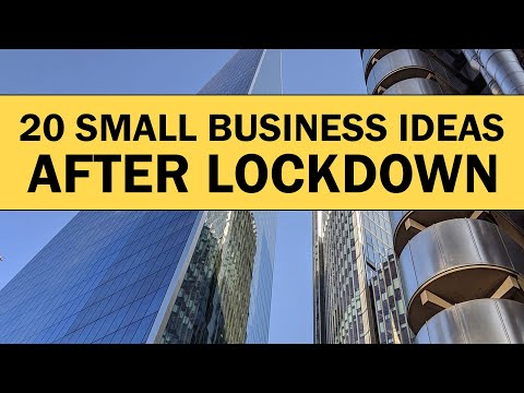 , title : '20 Small Business Ideas to Start Your Own Business After Lockdown