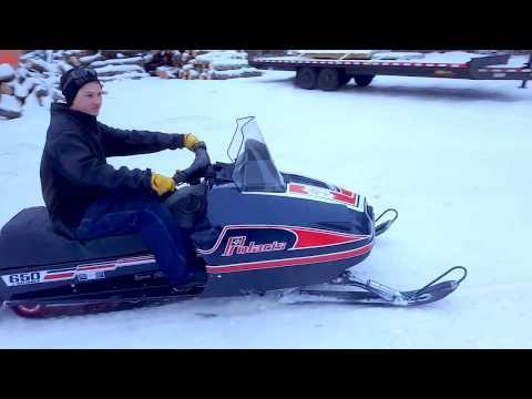 Crazy Fast Polaris Snowmobile 650 letöltés
