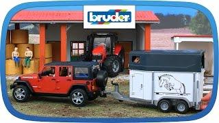 """Внедорожник Wrangler Unlimited Rubicon с прицепом-коневозкой  02-926 от компании Интернет-магазин """"Timatoma"""" - видео"""