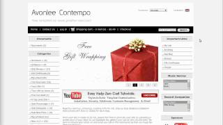 Easy Help Zen Cart Virtual Tour: Avonlee Contempo Free Template
