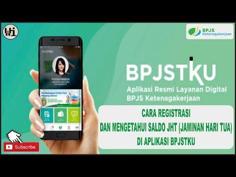 Cara Registrasi dan Mengetahui Saldo JHT (Jaminan Hari Tua) di Aplikasi BPJSTKU