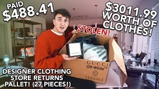 I Paid $488.41 for $3011.99 Worth Of MYSTERY OFF-WHITE, Gucci, & More!