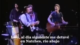 Johnny Cash & The Highwaymen- big river (subtitulos en español)