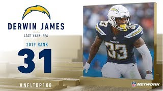#31: Derwin James (S, Chargers) | Top 100 Players of 2019 | NFL