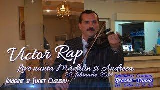 Victor Rap Vioara Instrumentala LIVE nunta Madalin si Andreea (Audio-Video Claudiu / Record Studio)