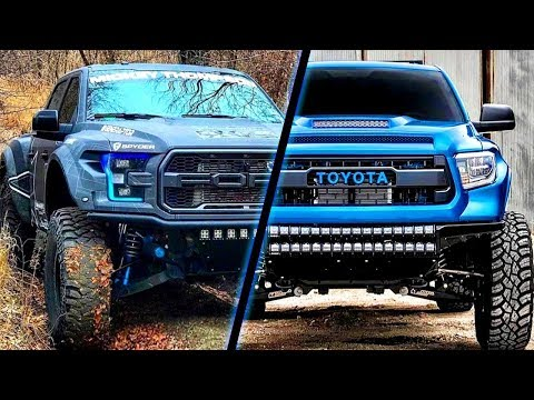 CRAZIEST and POWERFUL TRUCKS (Raptor, Tacoma, Cummins) | ROLLING COAL