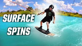 #8 Cablepark Wakeboard Begginer – How to surface 360