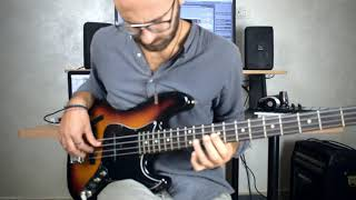 Circus (Dirty Loops) BASS COVER + (transcription Of Keyboard Solo)