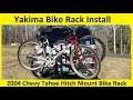 Yakima Bike Rack (Bicycle Carrier) Installation and Overview