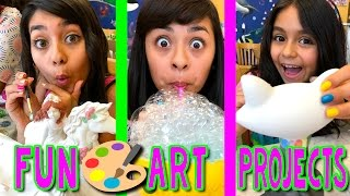 Fun Art Projects - Color Me Mine : VLOG IT // GEM Sisters