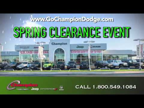 2017 DODGE & JEEP Spring Clearance Event - Los Angeles, Cerritos, Downey CA - RAM & CHRYSLER