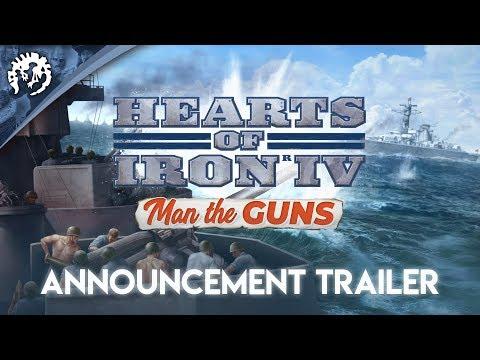 Hearts of Iron IV: Man the Guns - Announcement Trailer thumbnail
