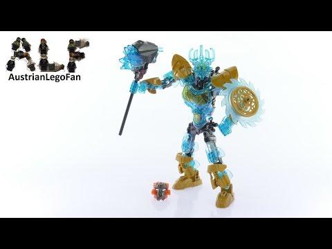 Vidéo LEGO Bionicle 71312 : Ekimu le Créateur de masques