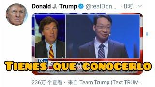 El discurso chino reenviado por Donald Trump