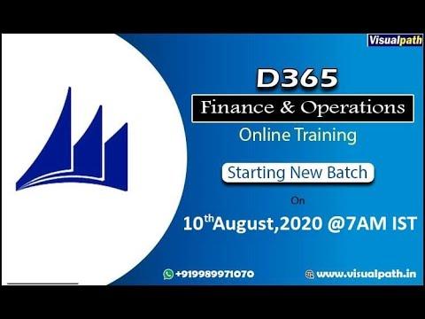 Dynamics AX Functional finance & operation online training demo ...
