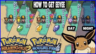 Leafeon  - (Pokémon) - Pokemon HeartGold and SoulSilver - How to get Eevee & Evolve It!