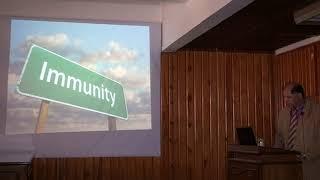محاضرة ا.د. محمد لبيب سالم  عن وسائل تحفيز المناعة المضادة للسرطان  بجامعة  الازهر 2015