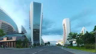 Презентация проекта Zaha Hadid Architects для Новороссийска