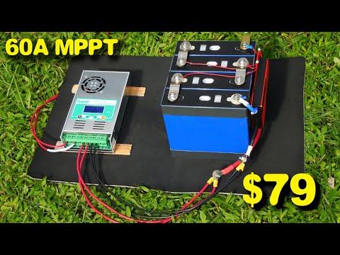 PowMr 60A MPPT Solar Charge Controllers HHJ-60A Testing