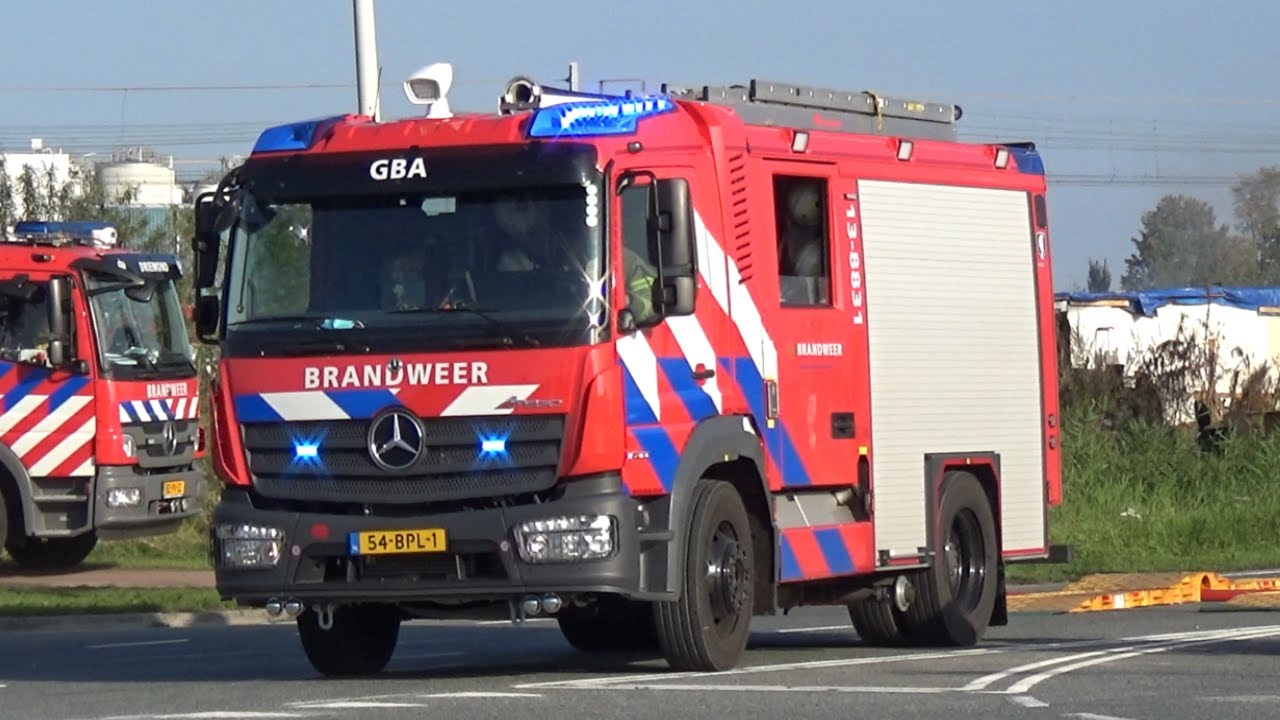 [GRIP 1] Brandweer rukt uit voor een Grote Brand in Amsterdam Westpoort!