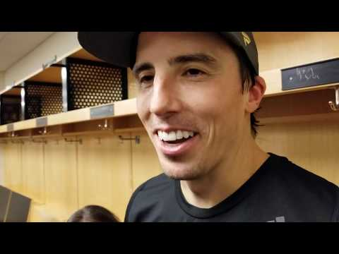Marc-Andre Fleury after Penguins Shutout, Pranks, and Controversial Mask Removal | PHN