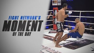 Moment of the Day: Virgil Zwicker Clocks Mike Hayes at KSW 25