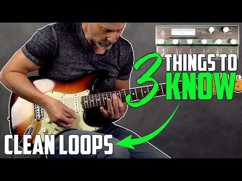 How To Use a Looper Pedal For Guitar - 3 Things To Know 4K