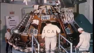 RARE FOOTAGE - NASA Technicians Disassemble the APOLLO 1 Module | January 27, 1967
