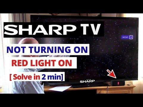 Sharp Aquos Blinking Codes
