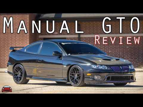 2006 Pontiac GTO Manual Review - In Your Face!