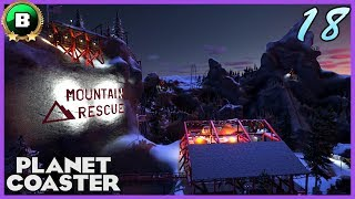 MOUNTAIN RESCUE! X-Dimension Coaster! Storytelling Contest Entry 18 #PlanetCoaster